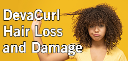 DevaCurl Hair Loss and Damage